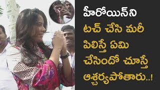 Indian Film Actress awesome in Tirumala Exclusive Video