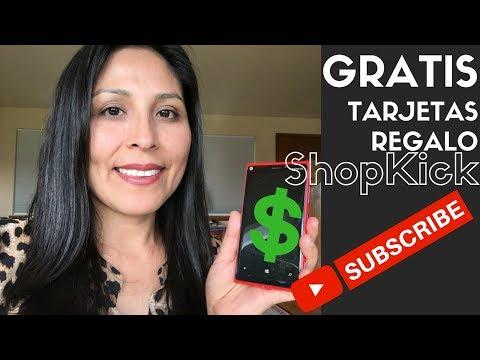 GRATIS tarjetas de regalo usando la aplicación de Shopkick en USA