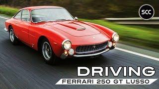 FERRARI 250 GT LUSSO   GTL   GT/L   Berlinetta 1964 - Full Test Drive in top gear   SCC TV