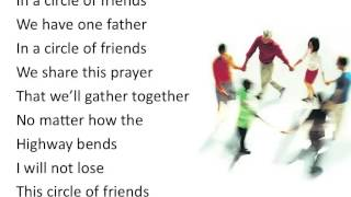 Circle of Friends ~ Point of Grace ~ lyric video