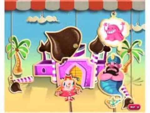 Candy Crush Saga Peppermint Palace Episode