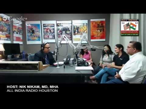 BONE MARROW DONORS & TRANSPLANT-ALL INDIA RADIO HOUSTON NIK NIKAM, MD, MHA