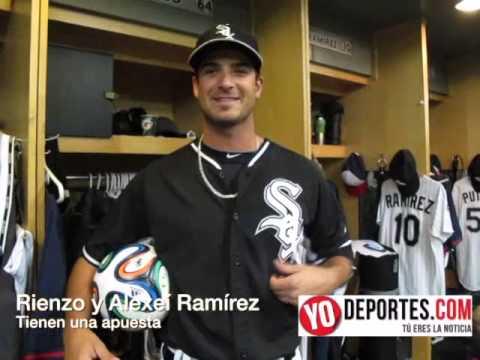 Andre Rienzo y Alexeí Ramírez tienen una apuesta por Brasil y Argentina