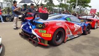 Ferrari 488 Challenge & GT3 @Ferrari 70th Anniversary, Jakarta