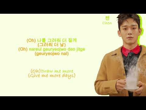 EXO Fall (Color Coded Hangul/Rom/Eng Lyrics)