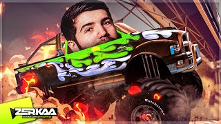 MONSTER TRUCK DRAG RACING! (MMX Racing)