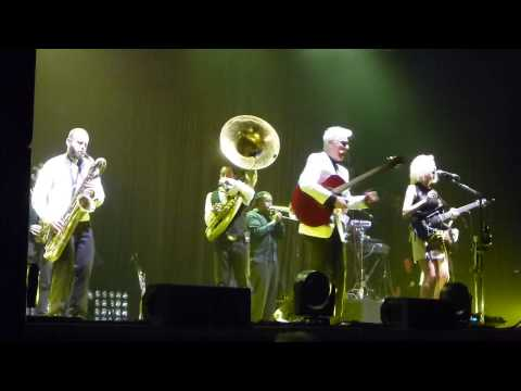 David Byrne & St. Vincent. Wellmont Theater, Montclair.NJ 06/12/13
