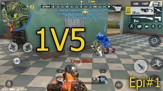 រៀនលេង1V5~Solo VS Fireteam~ROS Khmer/SNA Gaming