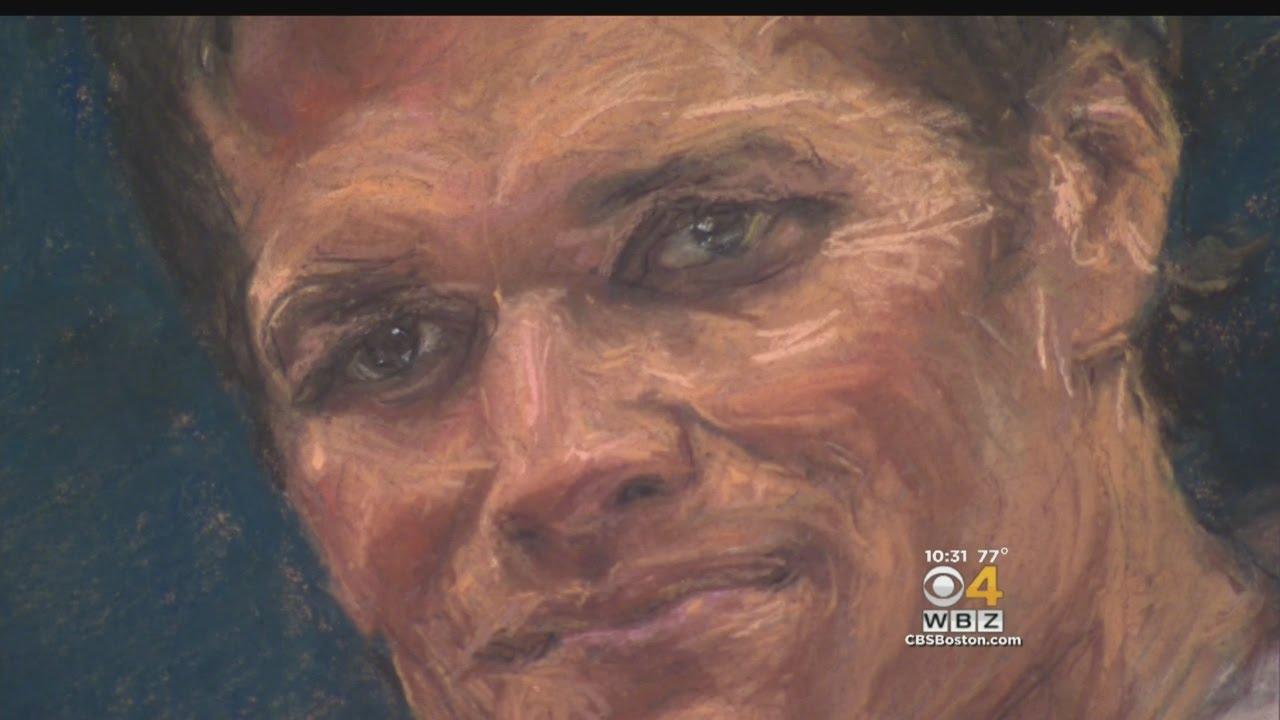 Tom Brady Sketch Artist Practicing For 'Deflategate' Hearing