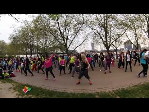 ZUMBA Flashmob Cologne 04.04.2014