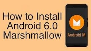 How to install Android 6.0 on micromax unite2