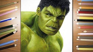 Speed Drawing:  The Hulk   Jasmina Susak