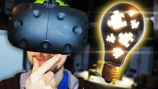 USE YOUR VIRTUAL BRAIN   The Puzzle Room VR (HTC Vive Virtual Reality)