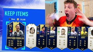 RONALDO & MESSI IN THE BEST TOTY PACK OPENING EVER SEEN - FIFA 19