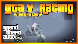 Racing Game on GTA 5 (BMX, Giant Ramp, and More!)