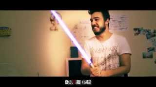 May the 4th be with you (homemade lightsaber)
