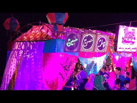 14 Shaban 2018 Bajra | Mehndi Ghat | Lucknow, India