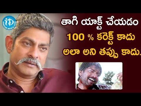 Jagapathi Babu About Consuming Alcohol On Movie Set | Frankly With TNR | Celebrity Buzz With iDream