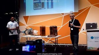 Belda con WOPR en Campus Party Europe – London 2013