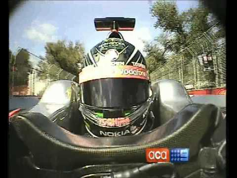 Jenson Button & Jamie Whincup Swap Cars (Albert Park 2010)