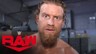 "Buddy Murphy's ""Rapid Reaction"" to WWE Draft: Raw Exclusive, Oct. 14, 2019"