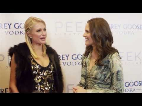 Paris Hilton Interview at PEEK Nightclub in Lake Tahoe