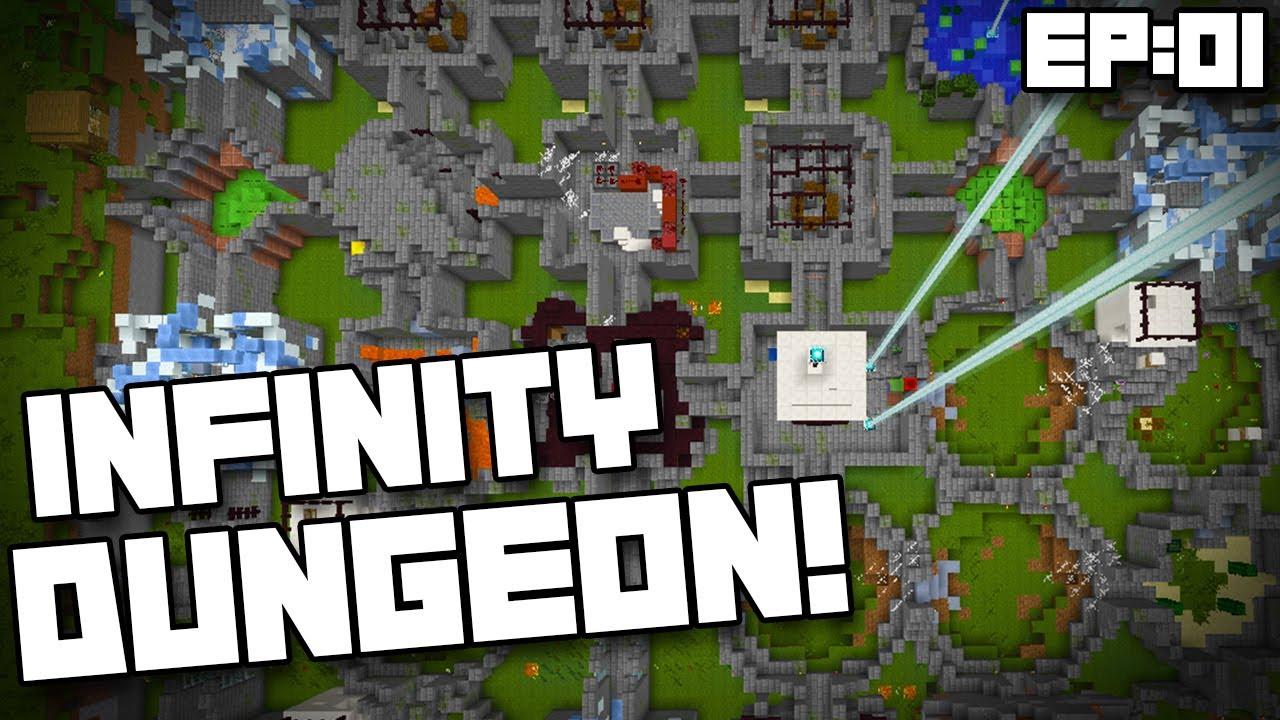 Minecraft 1 8 Adventure Map Infinity Dungeon Ep01