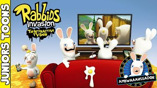 Rabbids Invasion: The Interactive TV Show Game Unboxing