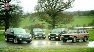 New Range Rover meets its ancestors - Auto Express