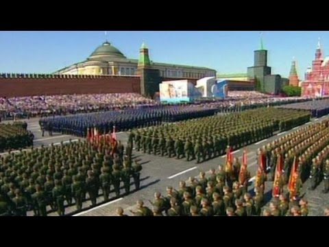 Russia marks victory day with Moscow parade