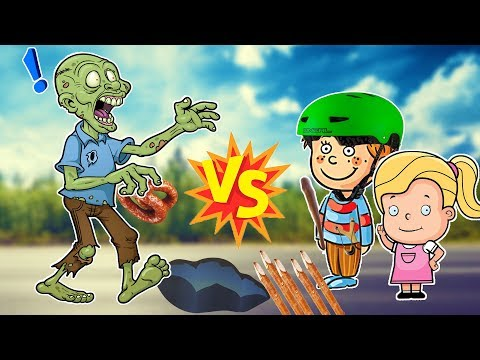 Выживет ли простой ШКОЛЬНИК в Зомби апокалипсис?