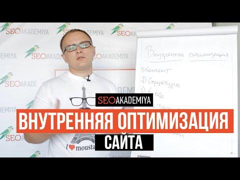 Внутренняя оптимизация сайта под SEO. Павел Шульга (Академия SEO)