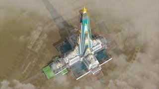 Vrindavan Chandrodaya Mandir - Construction Plan
