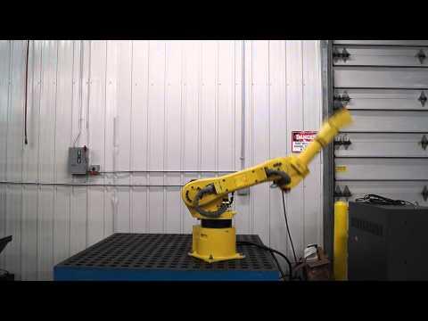 SCC Machinery, Inc's Fanuc M-6iB Robot Test Video F# 65987