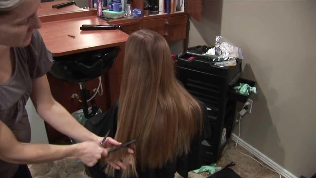 Long Hair Layers Hair Cut Natural Hairstyles Round