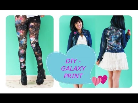 DIY Galaxy Print - Looks