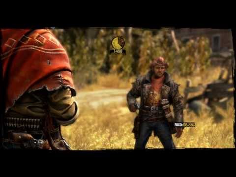 Call of Juarez: Gunslinger - 9600GT Gameplay - Primeiros Minutos
