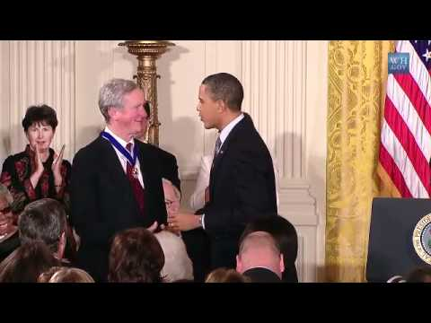 Obama Awards George H. W. Bush A Medal Of Freedom