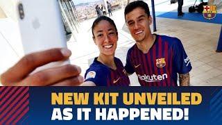 FULL STREAM | FC Barcelona unveils new Nike kit for 2018/19 season