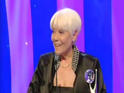 British Soap Awards 2007 - Wendy Richard Wins a Lifetime Achievement Award
