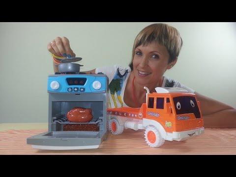 Видео для детей - Готовим Вместе -  Полезный обед