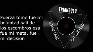 Triangulo Dezert One Ft Jero Letra