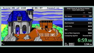 "King's Quest III: To Heir is Human any% ""Speedrun"" in 49:27"