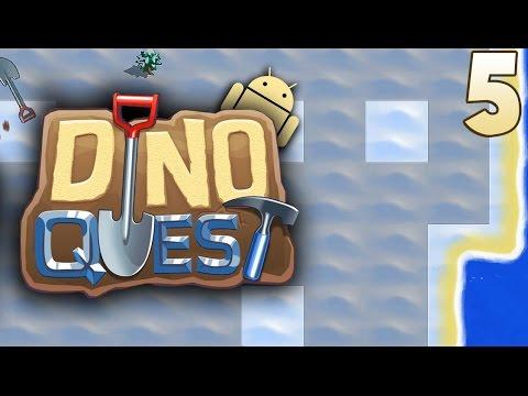 Dino Quest: Dinosaur Dig Game   Ep.05 - Jurassic Park & Disney's Dinosaur.