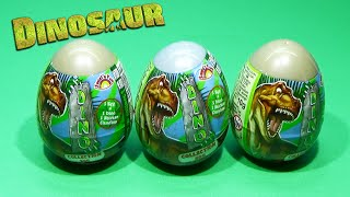 Dinosour Surprise eggs !! Kinder Egg Surprise Unboxing DINO Collection Egg TOYS