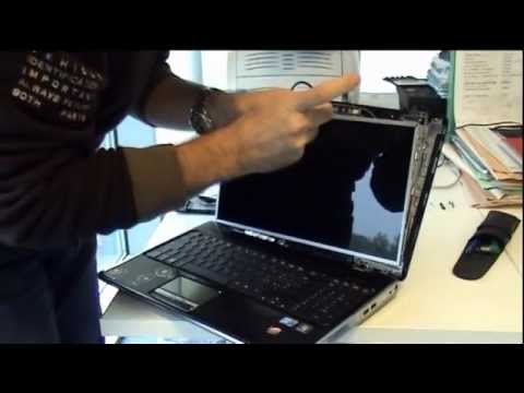 Laptop screen replacement / How to replace laptop screen of HP Pavilion DV6-1350EL