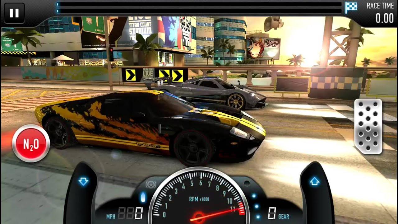 csr racing ford gt csr test drive   youtube