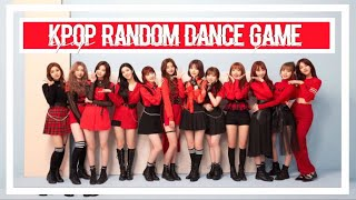 KPOP RANDOM DANCE GAME | 2018