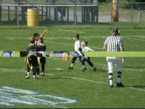 St Jane Steelers NFL flag football 2009 Highlights Video