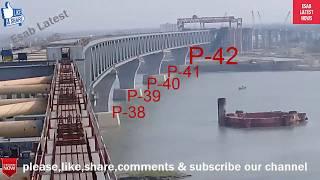 ১৩৫০মি দৈর্ঘ্যের পদ্মাসেতুর ট্রেন ও বাসের স্লাপ বসানো শুরু করল চায়নাও দেশিরাpadma bridge latest news